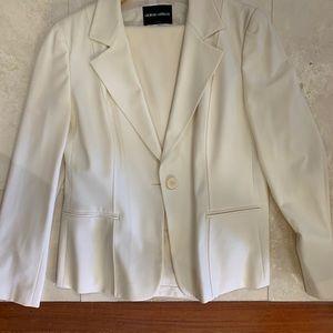 Giorgio Armani Black Label White/Ivory suit